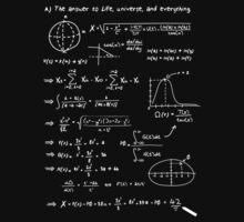 The answer to life, univers, and everything. T-Shirt