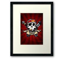 Pirate Wars Framed Print