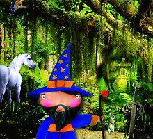 El mago Merlin by sandradebedout
