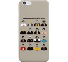 TV series iPhone Case/Skin