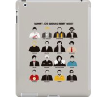 TV series iPad Case/Skin