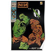 NIN vs QOTSA Poster