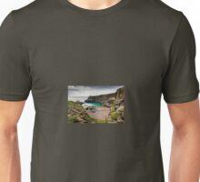 The Blue Lagoon, Abereiddy, Pembrokeshire Unisex T-Shirt