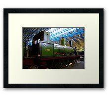 Old Steam Workhorse Framed Print