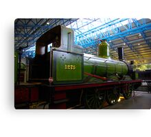 Old Steam Workhorse Canvas Print