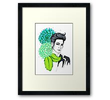 I am your FLOWER BOYFRIEND || Youngmin  Framed Print