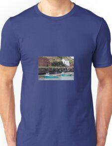 Fishing Boats, Porthgain Harbour, Pembrokeshire Unisex T-Shirt