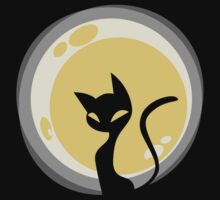 Cat and Moon T-Shirt