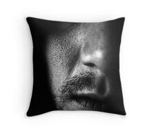 Dark Face Throw Pillow
