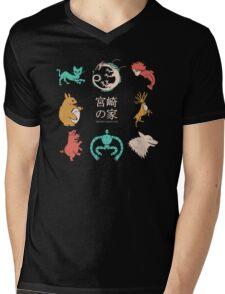 House of Miyazaki Mens V-Neck T-Shirt