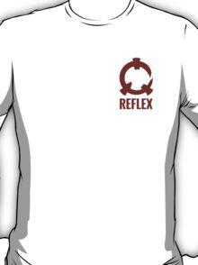 Reflex - Red Logo + Text T-Shirt