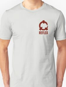 Reflex - Red Logo + Text T-Shirt