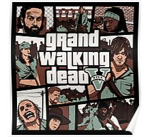 Grand Walking Dead Poster