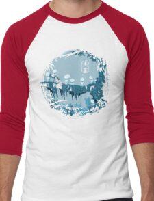 Kodamas Men's Baseball ¾ T-Shirt