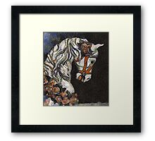 Childhood Dreams - My Lady Fair Wore Roses in Her Hair Framed Print