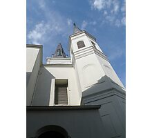 with an eye toward heaven {St. Louis Cathedral} Photographic Print