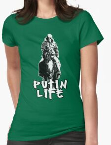 Putin's Thug Life Womens Fitted T-Shirt