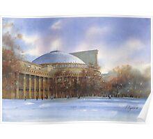 Novosibirsk. Opera-house Poster