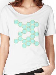 Hexagold T-shirt femme coupe relax