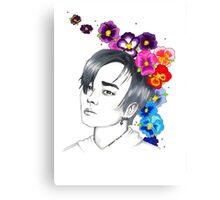 I am your FLOWER BOYFRIEND || Jeongmin  Canvas Print