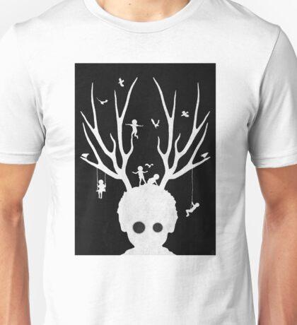 Dear imaginary friends (inverse) Unisex T-Shirt