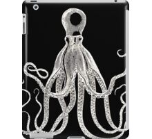 Black and White Octopus  iPad Case/Skin
