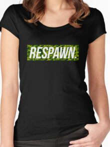 Respawn Camo Women's Fitted Scoop T-Shirt