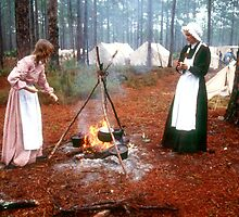 Civil war cooking by Larry  Grayam