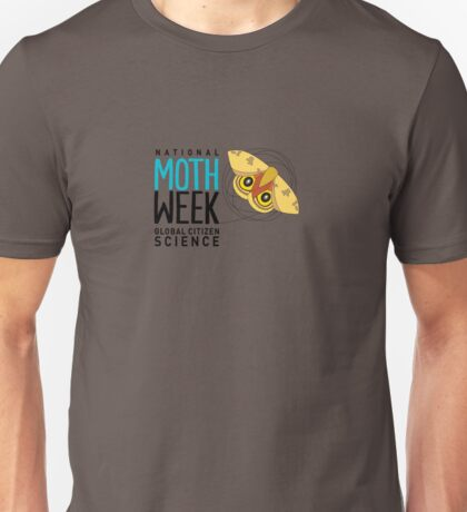 National Moth Week - logo horizontal Unisex T-Shirt