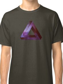 Infinite Penrose Triangle Galaxy Classic T-Shirt