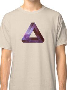 Infinite Penrose Triangle Galaxy Classic T-Shirt