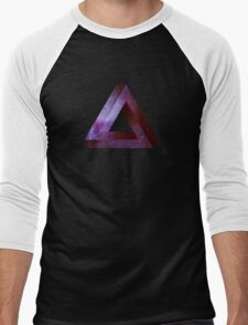 Infinite Penrose Triangle Galaxy Men's Baseball ¾ T-Shirt