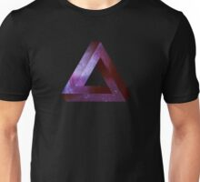 Infinite Penrose Triangle Galaxy Unisex T-Shirt