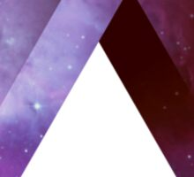 Infinite Penrose Triangle Galaxy Sticker