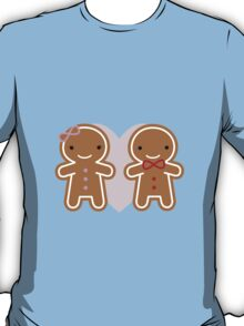 Cookie Cute Gingerbread Couple T-Shirt