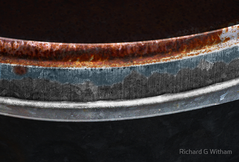 Rusty Lid by Richard G Witham