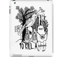 To Kill a Mockingbird (black and white) iPad Case/Skin