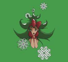 Snowflake: Christmas Tree Baby Tee