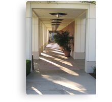 Perspective from Richard Nixon Library Canvas Print