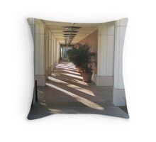 Perspective from Richard Nixon Library Throw Pillow
