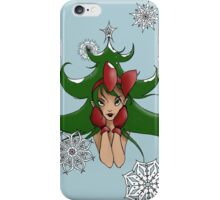 Snowflake: Christmas Tree iPhone Case/Skin