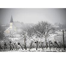 Austrian village in winter Photographic Print