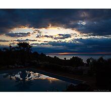 Sunrise reflections Photographic Print