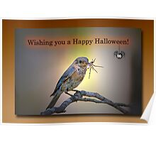 Wishing you a Happy Halloween Poster