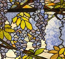 Detail of a Tiffany Window by ElyseFradkin