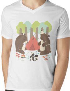 Bears of Summer Mens V-Neck T-Shirt