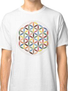 Flower of Life Retro Colors Classic T-Shirt