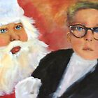 ralphie visits santa claus by LJonesGalleries