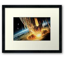 Earth 2049 - The End Framed Print