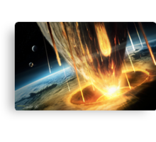 Earth 2049 - The End Canvas Print